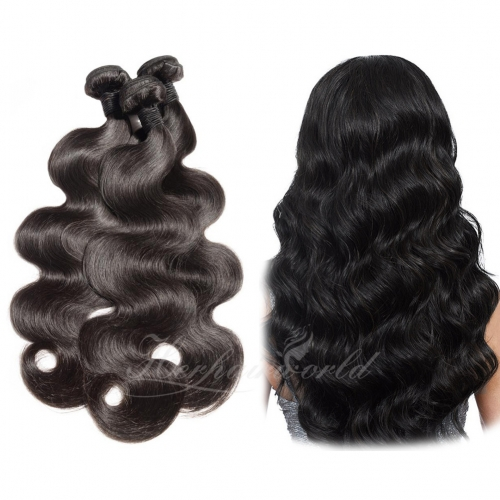 Wholesale Body Wave 100% Virgin Human Hair(100grams/bundle)